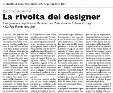 DESIGNERS REVOLT